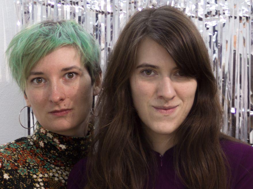Anna Benner und Zoe Aiano