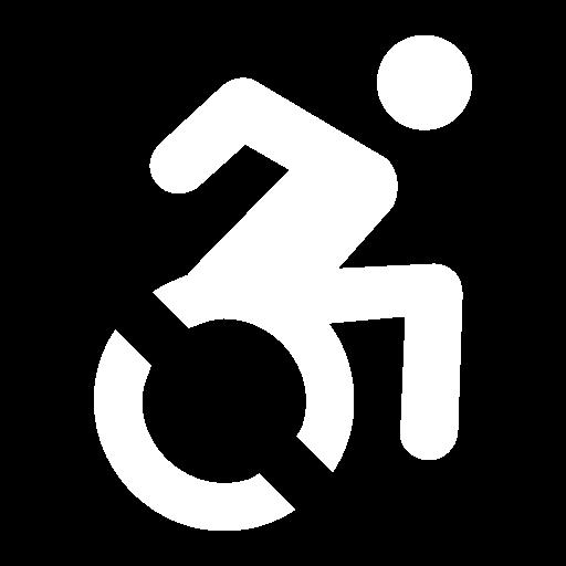 Symbol für barrierefreier Zugang